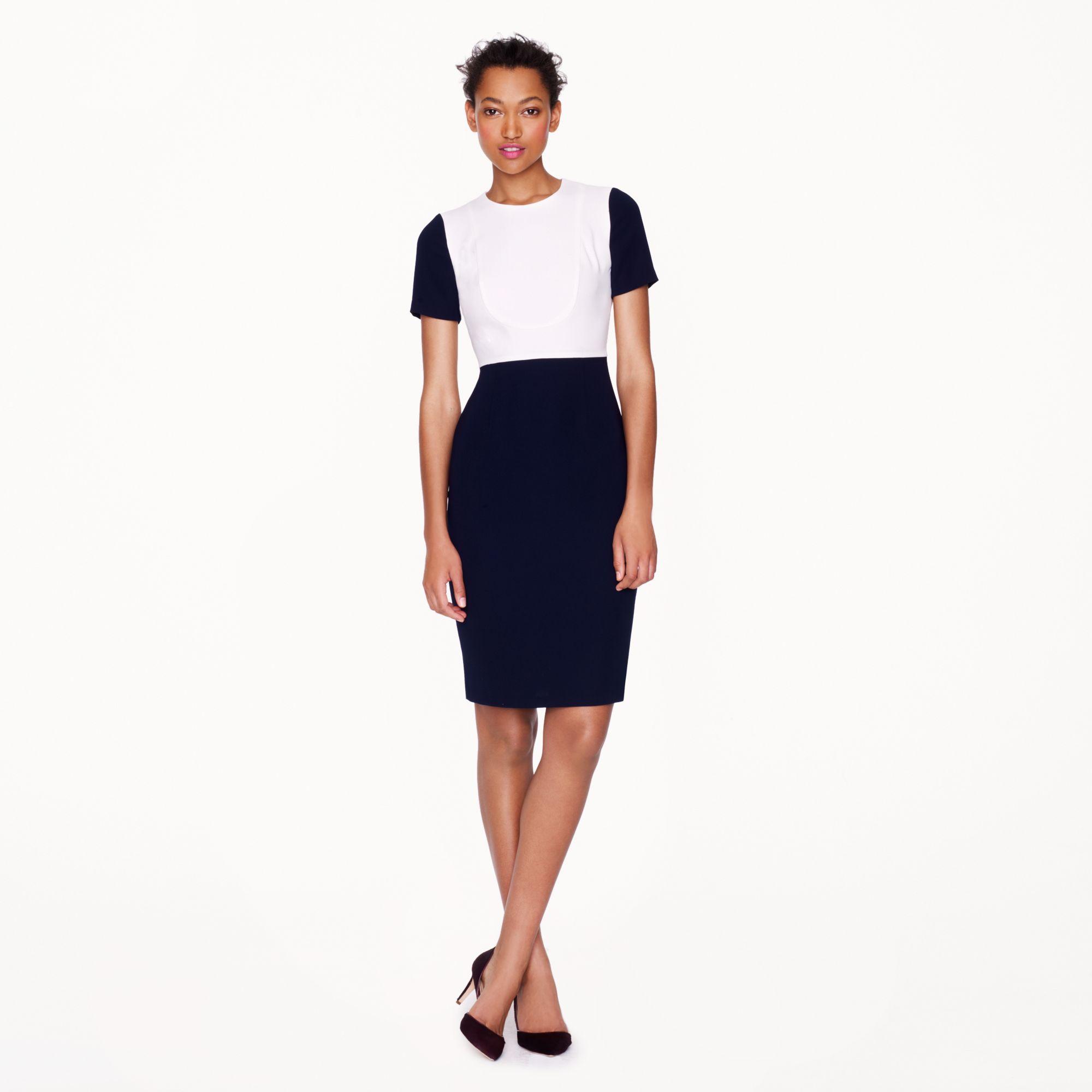 Colorblock Work Dress