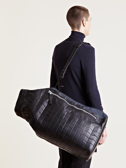 Waterproof Duffle Bags >> Lanvin Mens Waterproof Duffel Bag in Black for Men - Lyst