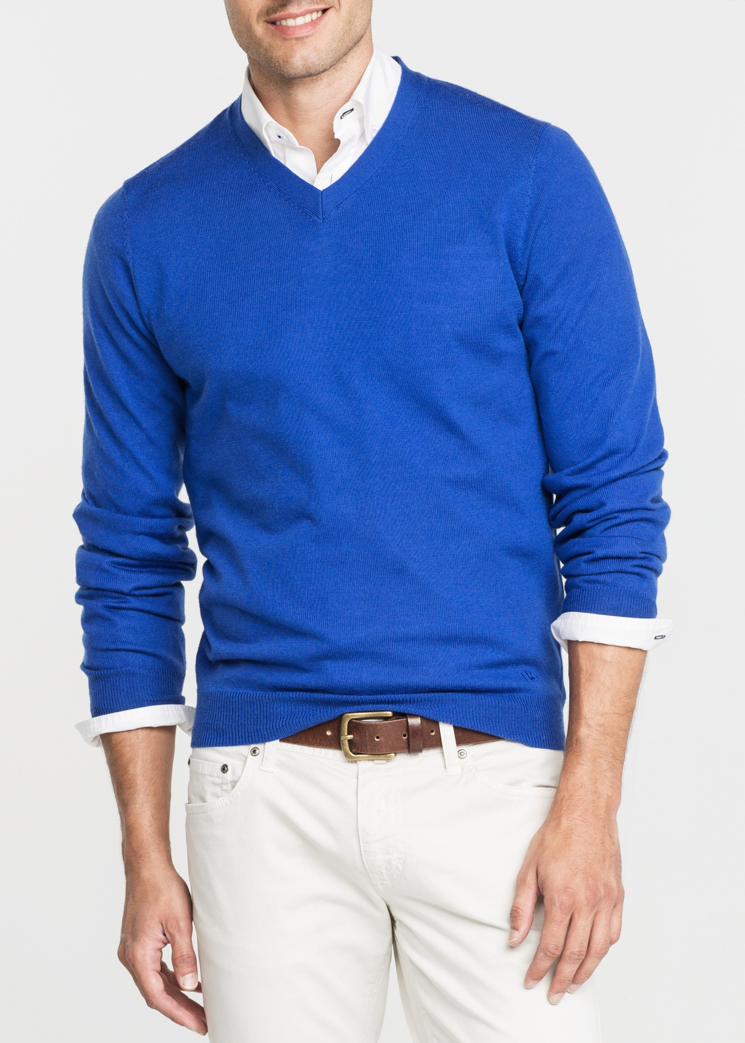 Cardigans are a classic favorite in men's clothing. Every man should have at least one staple cardigan in his closet for crisp fall nights or sunny spring mornings. v-neck sweaters are a fun twist on a classic, and they're polished and flattering.