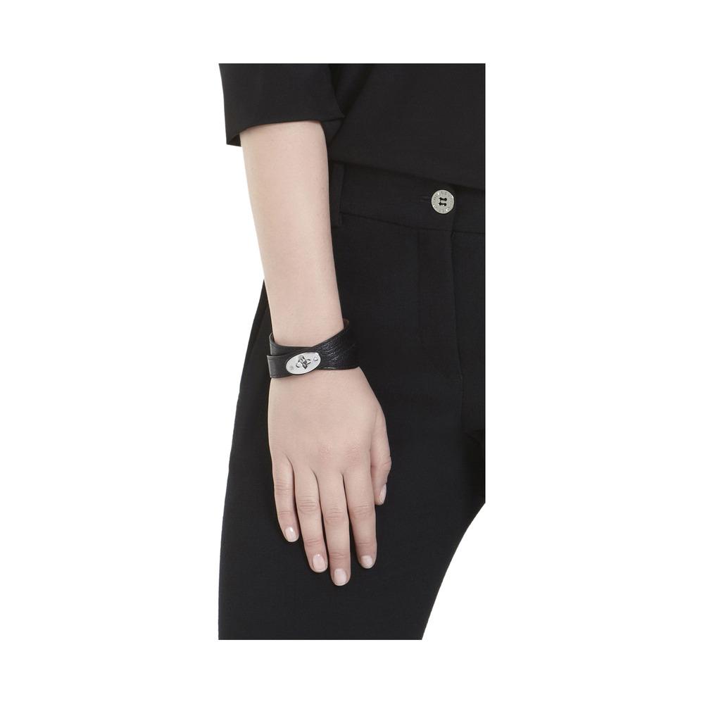 6075fffdf0d1c Mulberry Black Double Wrap Bayswater Bracelet