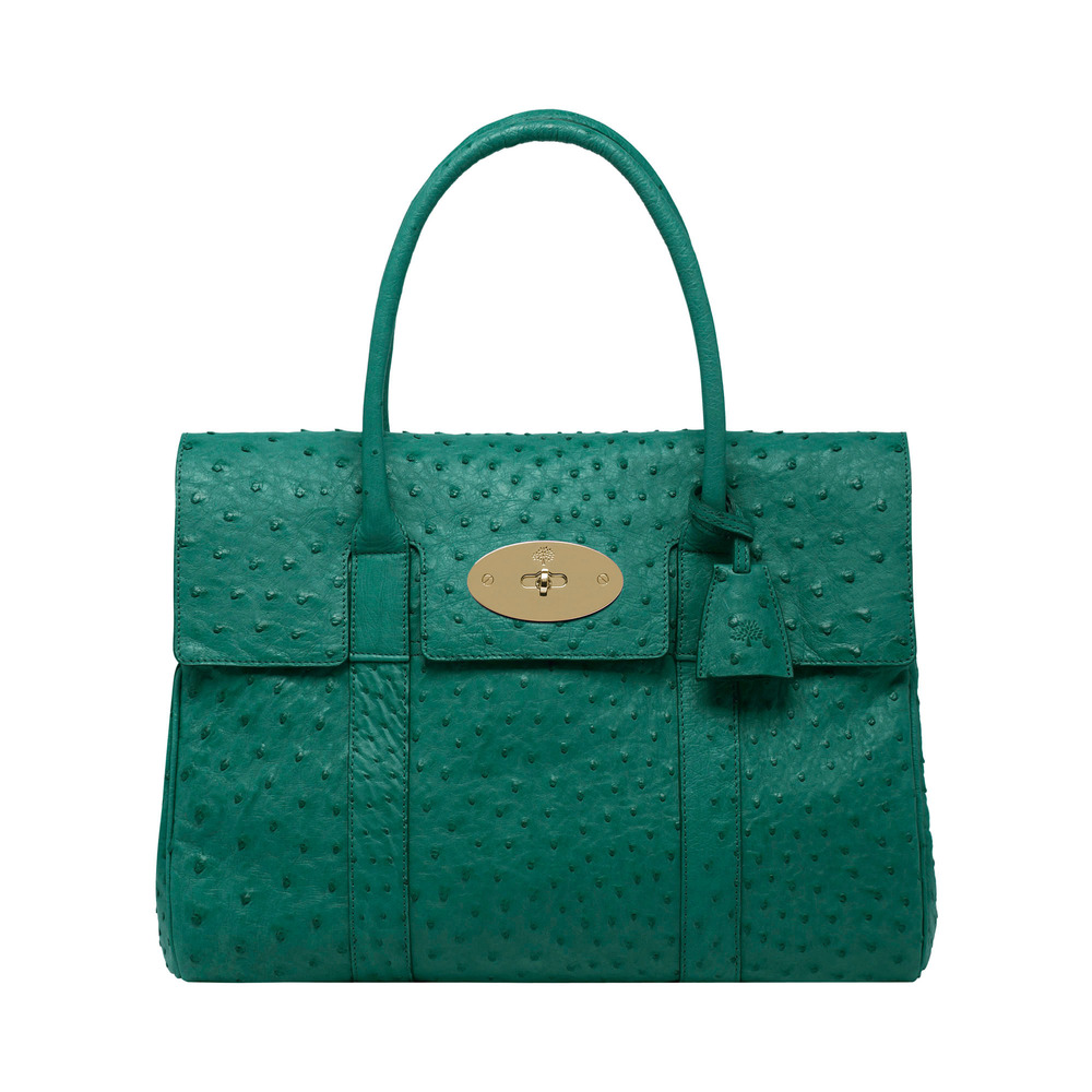 7c73800bca Lyst - Mulberry Bayswater in Green