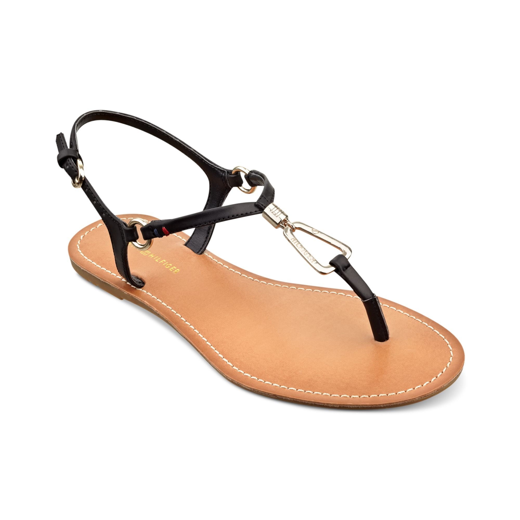 Tommy Hilfiger strappy flat sandals buy cheap discount xyYK6