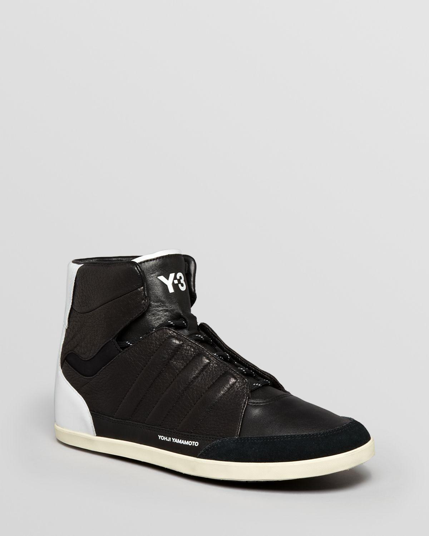 pretty nice e7920 cfa99 Lyst - Y-3 Honja High Top Sneakers in Black for Men