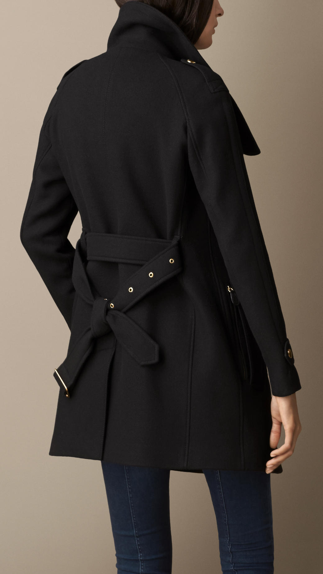 Find black wool wrap coat at ShopStyle. Shop the latest collection of black wool wrap coat from the most popular stores - all in one place.