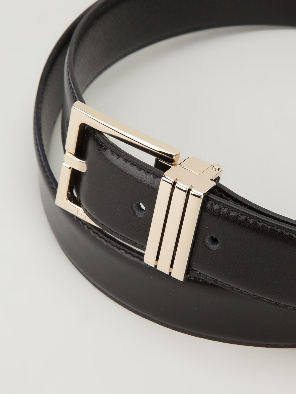 Givenchy Reversible Belt In Black For Men Lyst