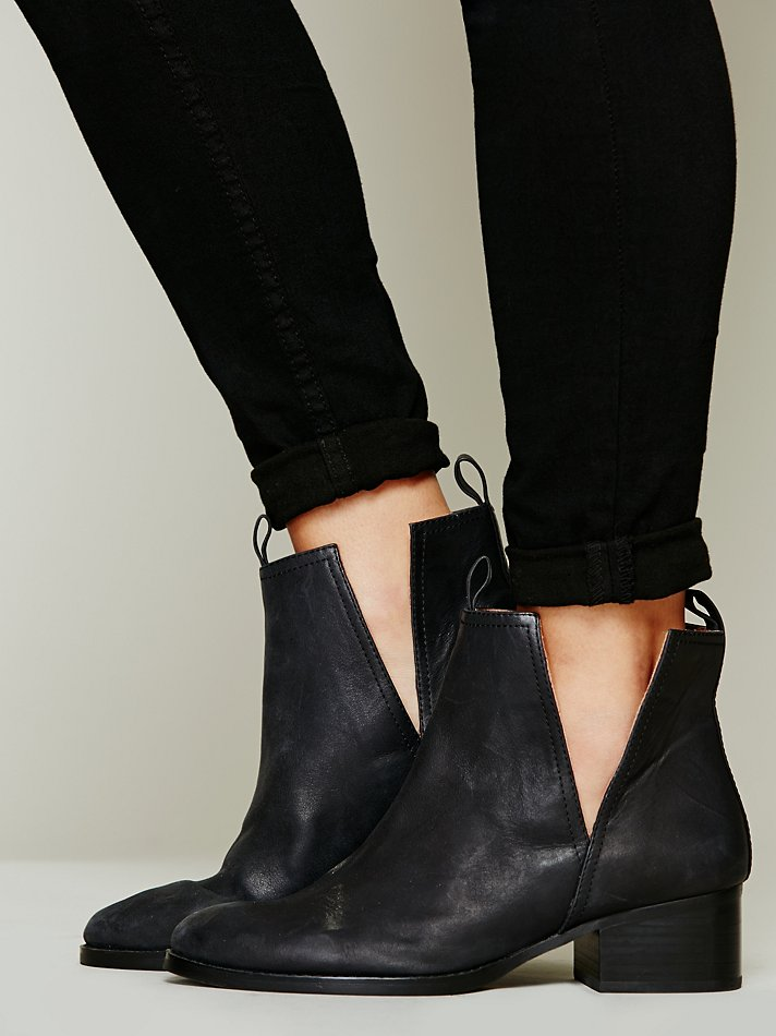 Jeffrey Campbell Cast Crew Ankle Boot In Black Lyst