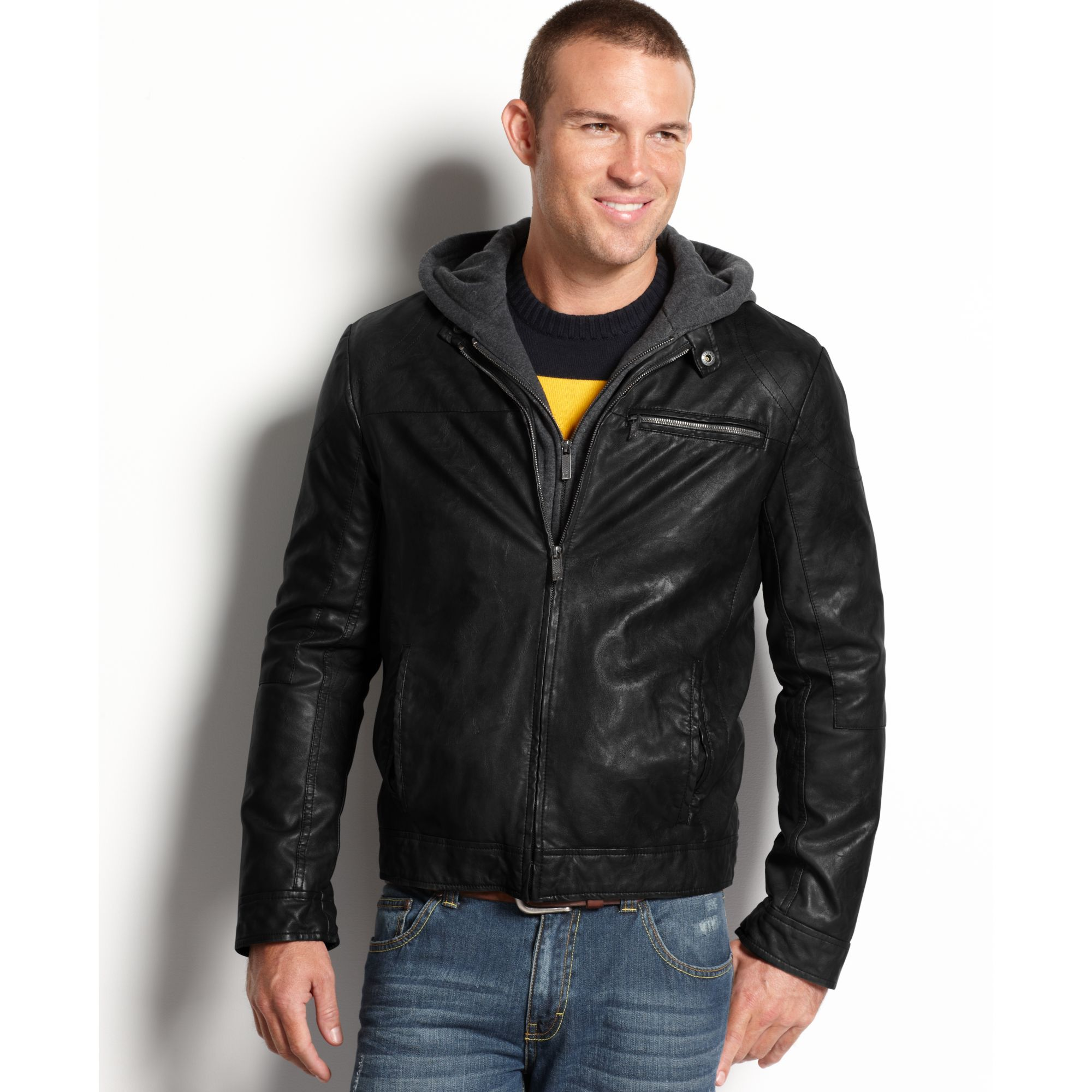 Find great deals on Mens Hooded Coats & Jackets at Kohl's today! Sponsored Links Outside companies pay to advertise via these links when specific phrases and words are searched.