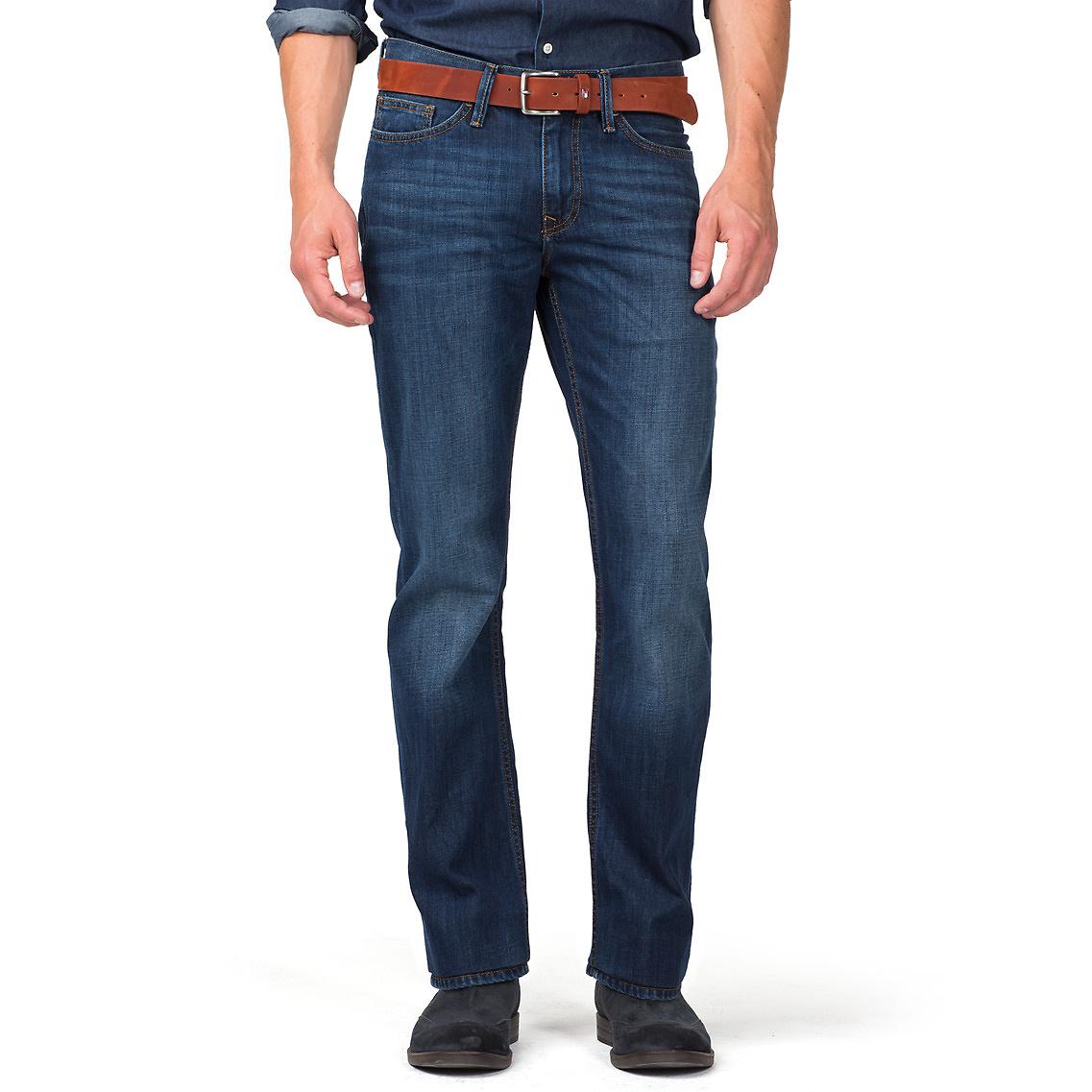lyst tommy hilfiger mercer regular fit jeans in blue for men. Black Bedroom Furniture Sets. Home Design Ideas