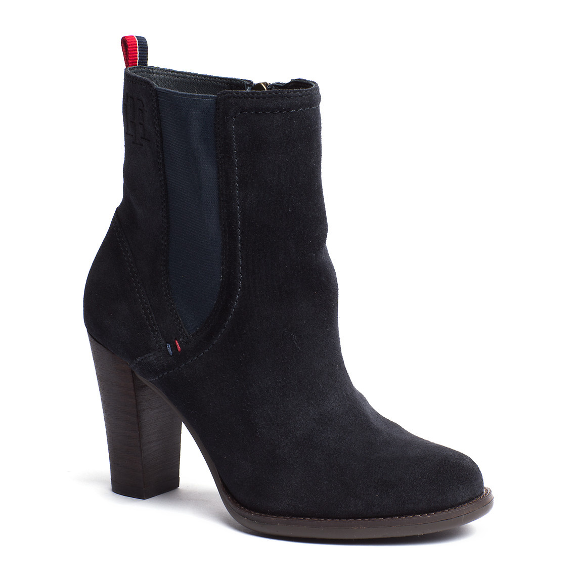 tommy hilfiger kalina ankle boots in black midnight lyst. Black Bedroom Furniture Sets. Home Design Ideas