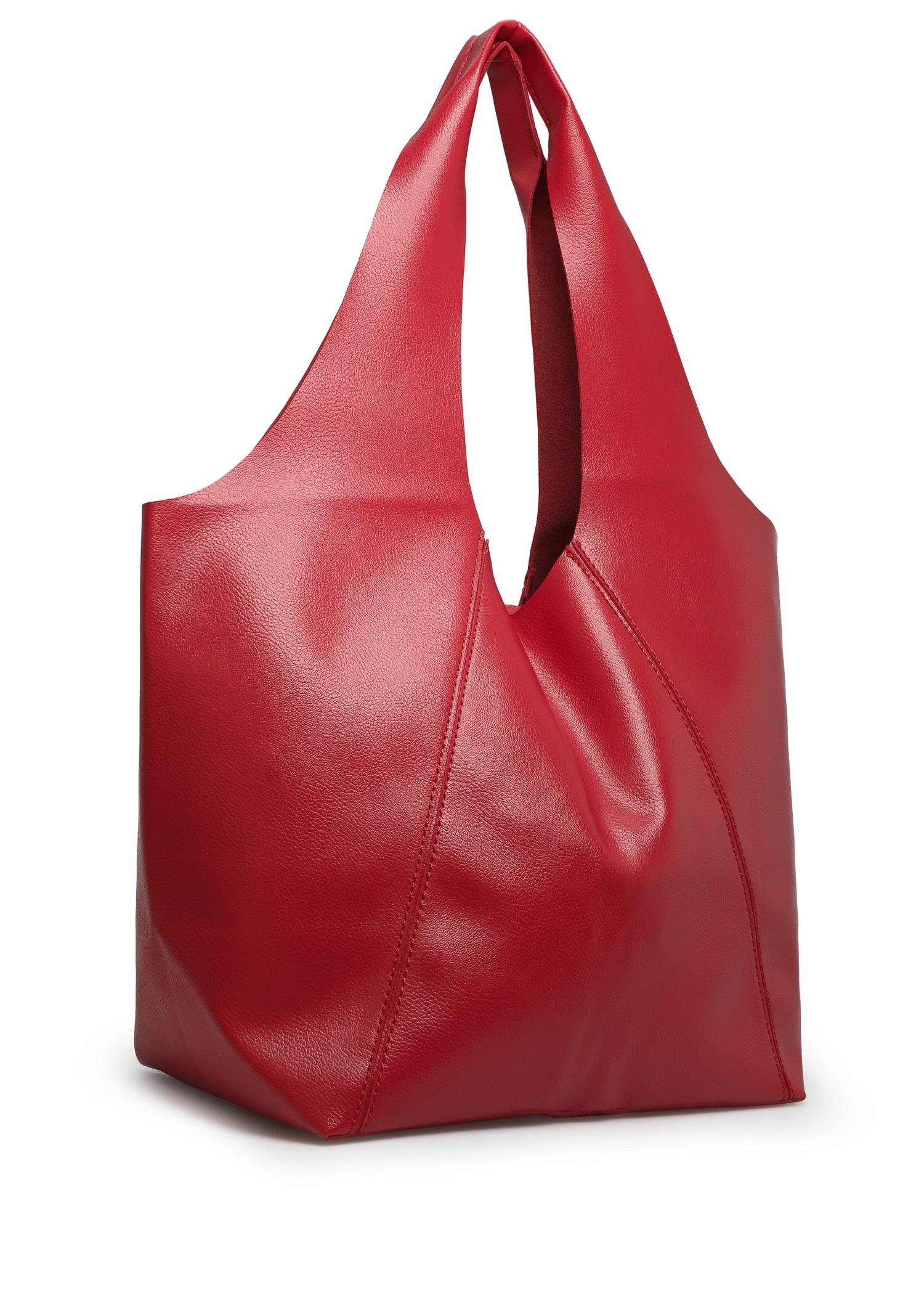 Mango Hobo Bag in Red | Lyst