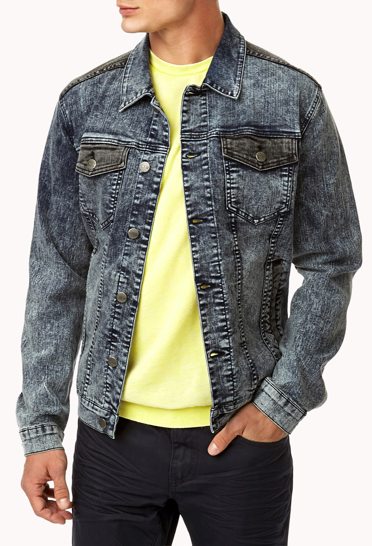 Find acid wash denim jacket men at ShopStyle. Shop the latest collection of acid wash denim jacket men from the most popular stores - all in one.