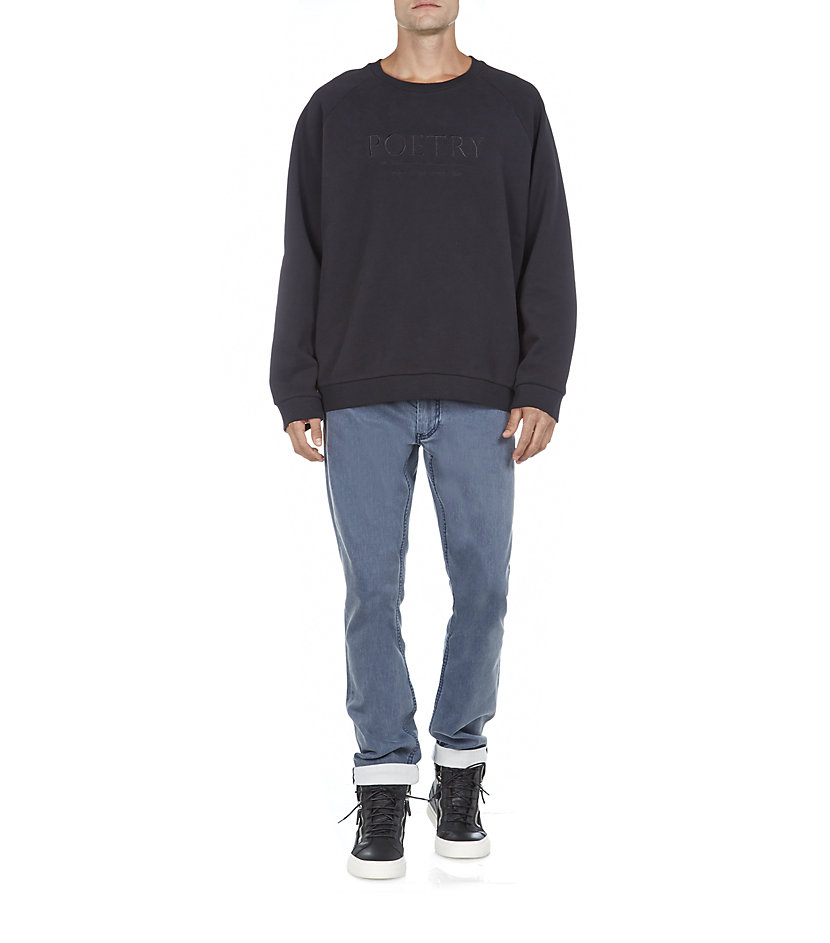 Acne Studios Brian Embroid Sweatshirt in Black for Men
