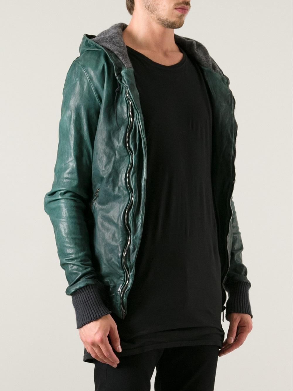 Leather Brato Noir Fitted Giorgio Jacket Wcfxaqncfw pwzqZ6I