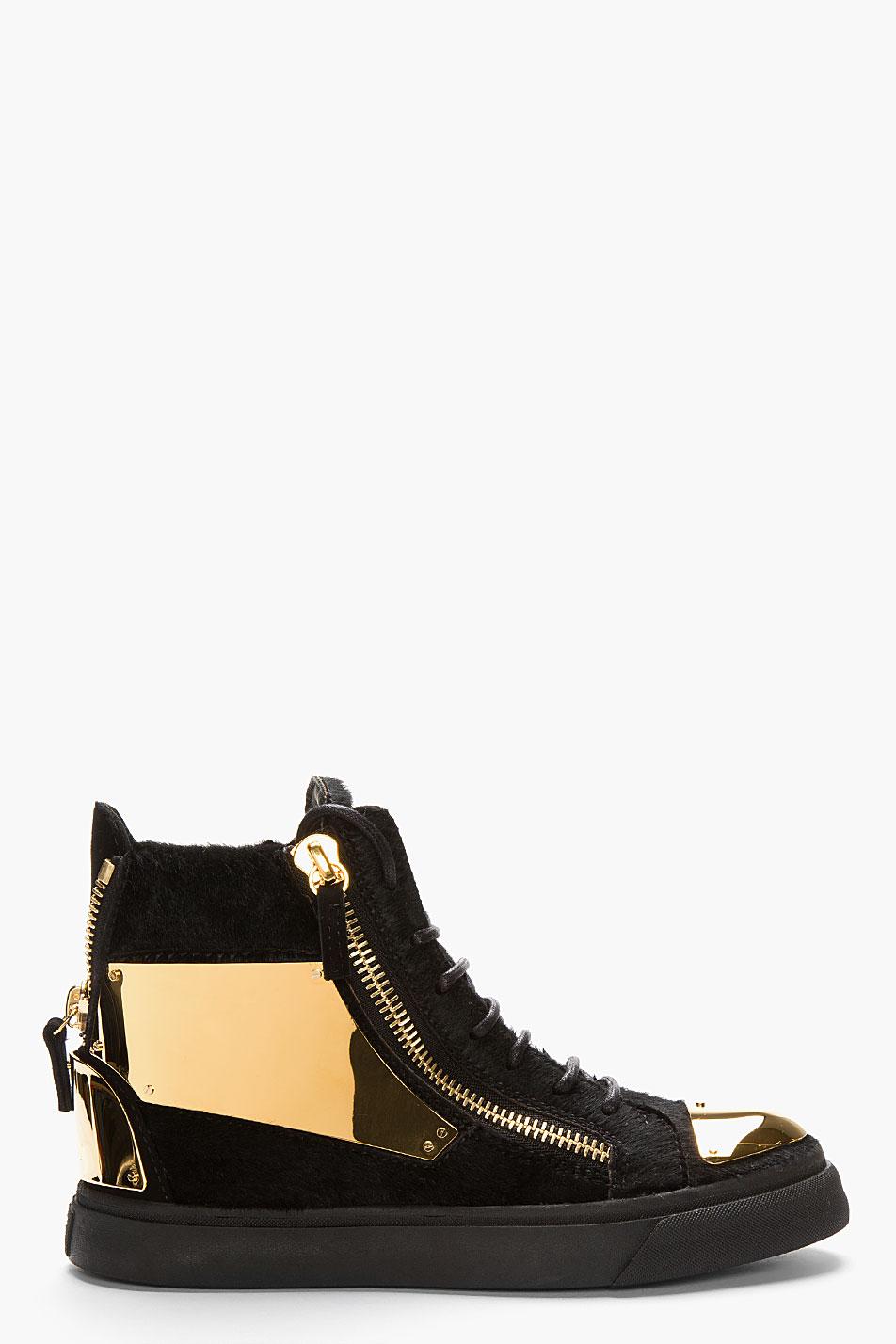 Giuseppe Zanotti London Sneakers In Black Lyst
