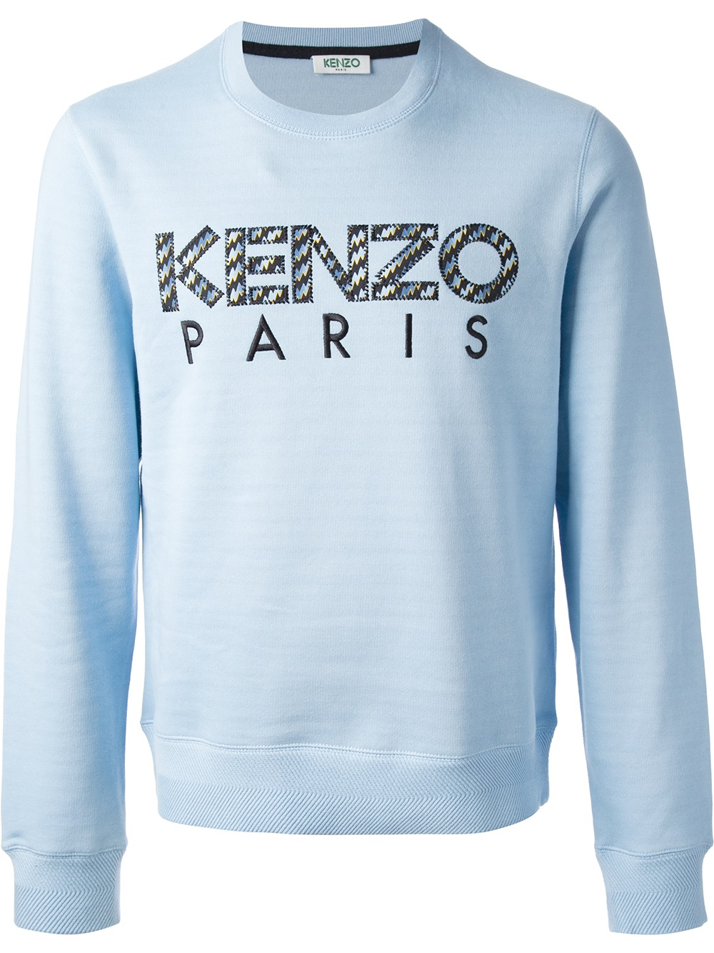 'icon' In For Lyst Blue Men Sweater Kenzo SqzMGUVp