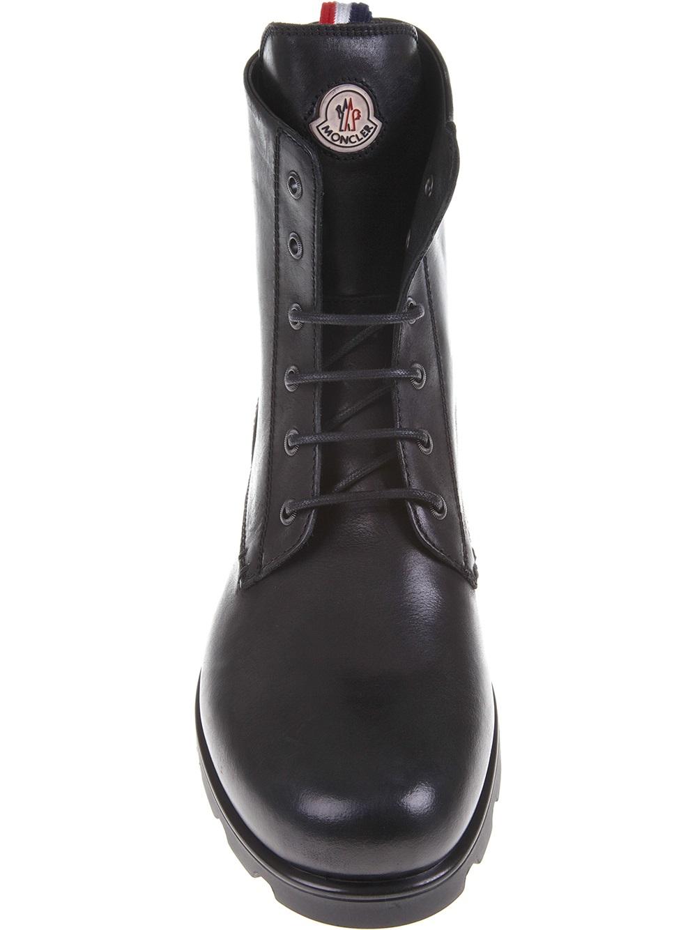 Moncler Vancouver Boot In Black For Men Lyst
