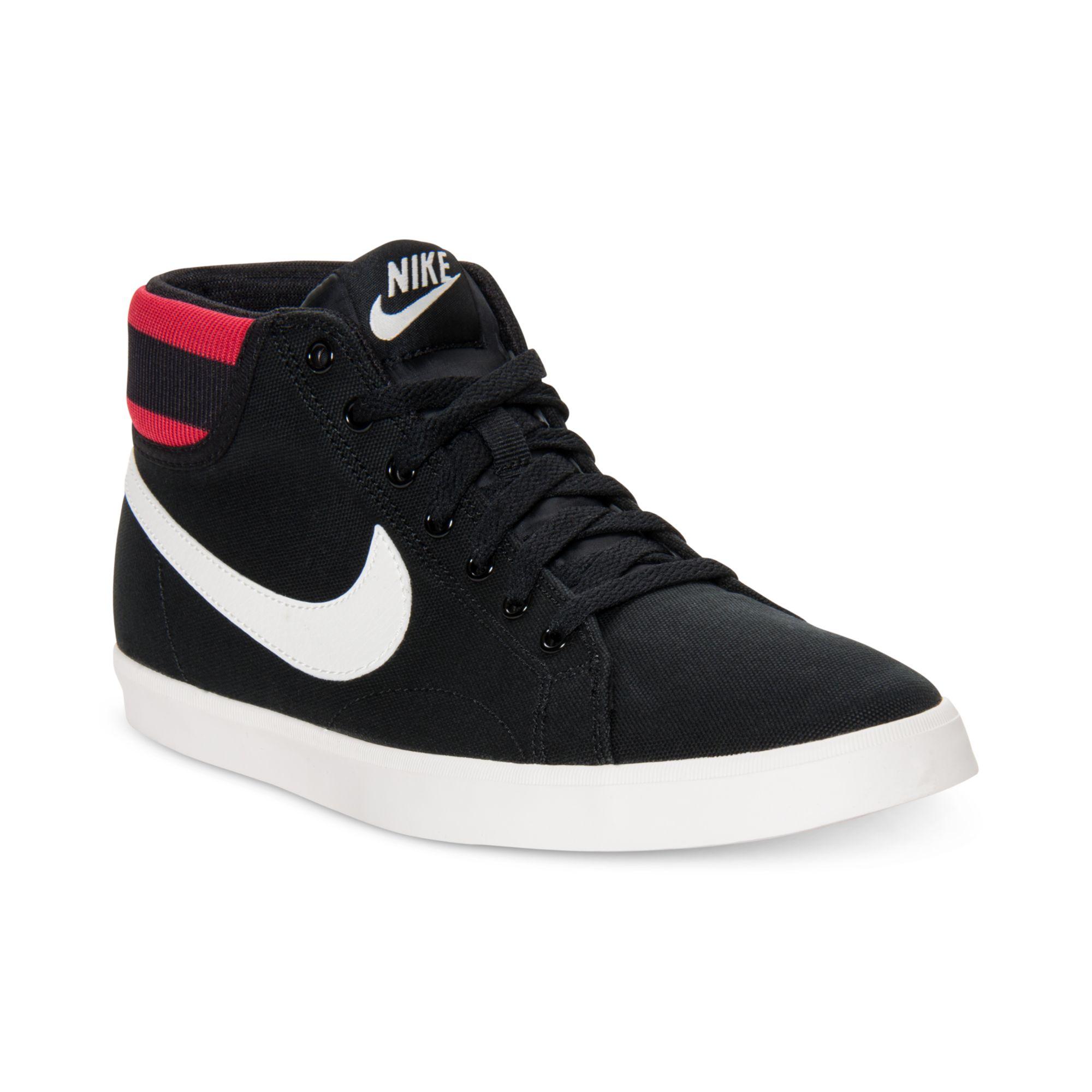 72e4e393b791d ... shop lyst nike eastham mid trainer sneakers in black for men 1de31 d7ff2
