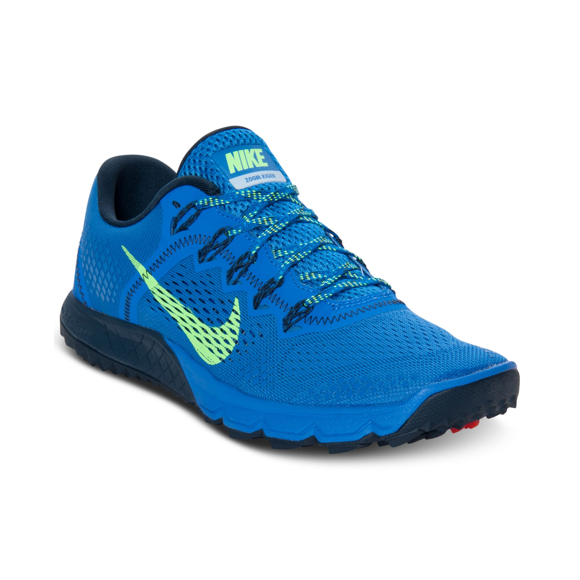 524412b5dffe ... wholesale lyst nike zoom terra kiger running sneakers in blue for men  b9a5d a08e3
