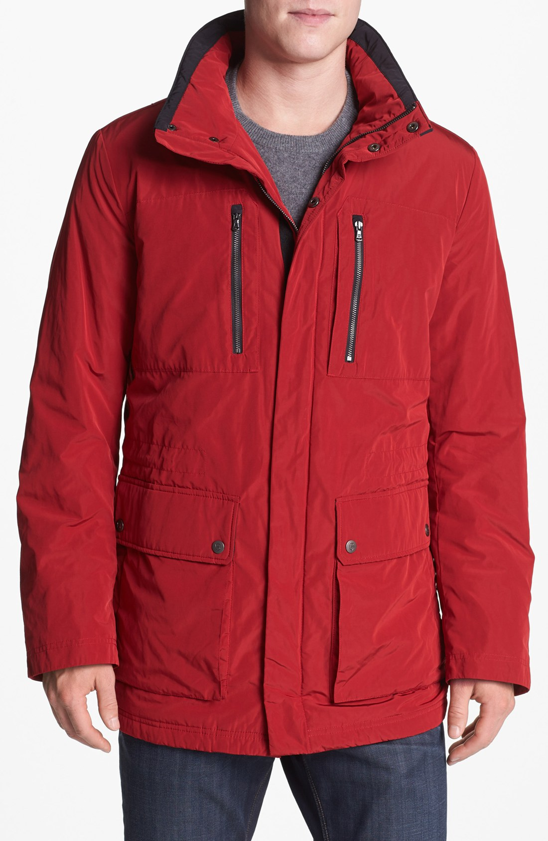 Victorinox Explorer Jacket In Red For Men Ibach Red Lyst