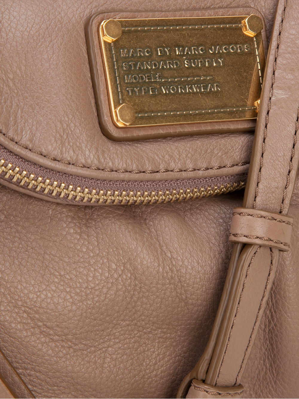 Marc By Marc Jacobs Mini Natasha Cross Body Bag in Natural