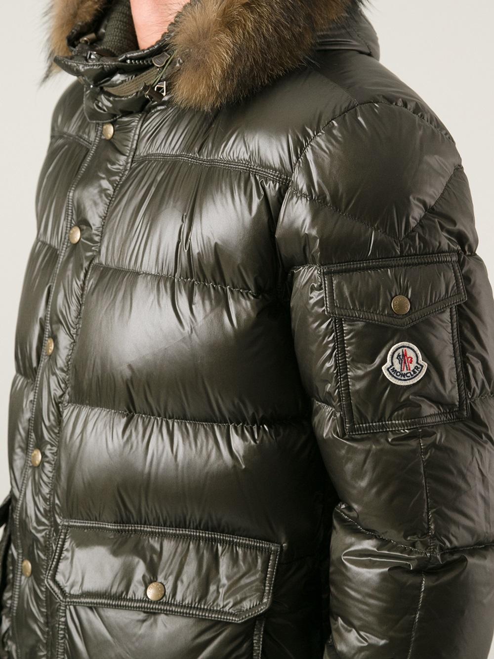 5c2078b7c Moncler Hubert Padded Jacket in Green for Men - Lyst