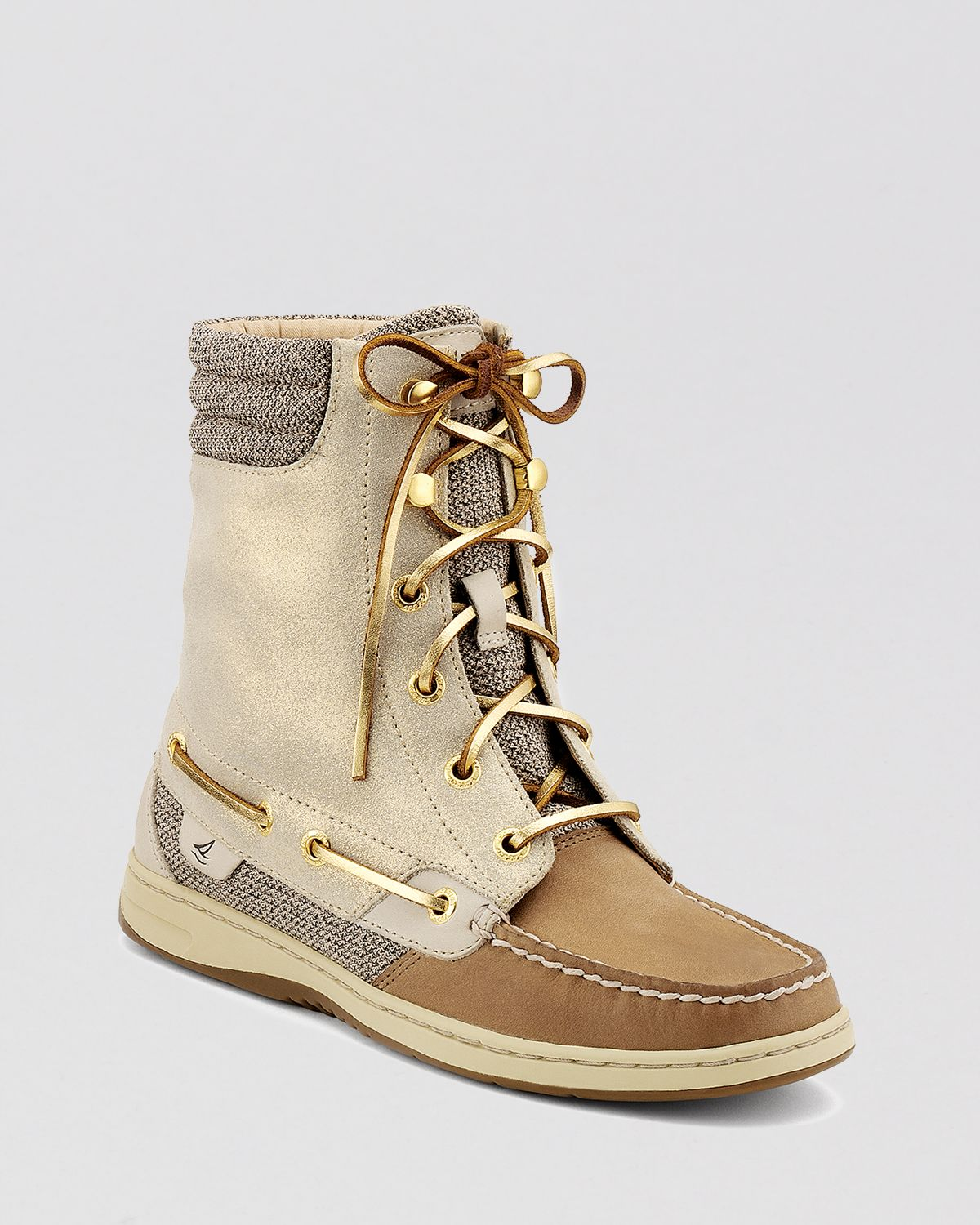 192f38b60bff Lyst - Sperry Top-Sider Lace Up Boots Hikerfish in Natural