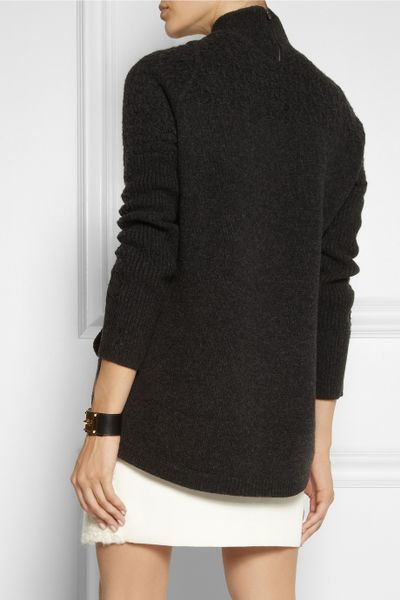 Sweater High Neck High Neck Wool Sweater in