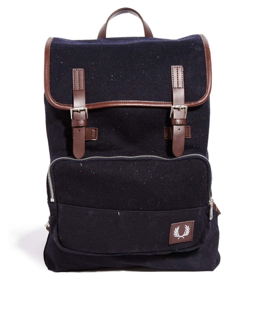 Fred Perry Wool Shoulder Bag 59