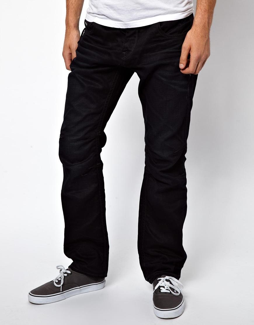 lee jeans black jack jones boxy powel loose fit jeans for men lyst. Black Bedroom Furniture Sets. Home Design Ideas