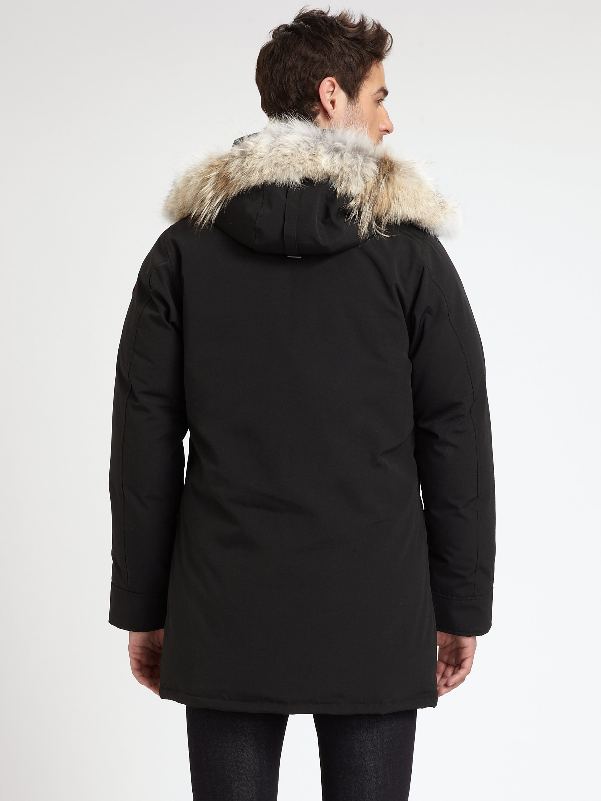 canada goose langford parka in black