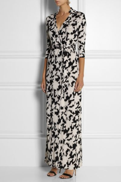 Dvf Abigail Maxi Dress Silkjersey Maxi Dress in