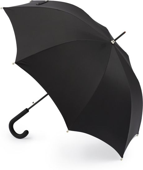 Alexander Mcqueen Skulldetailed Umbrella in Black