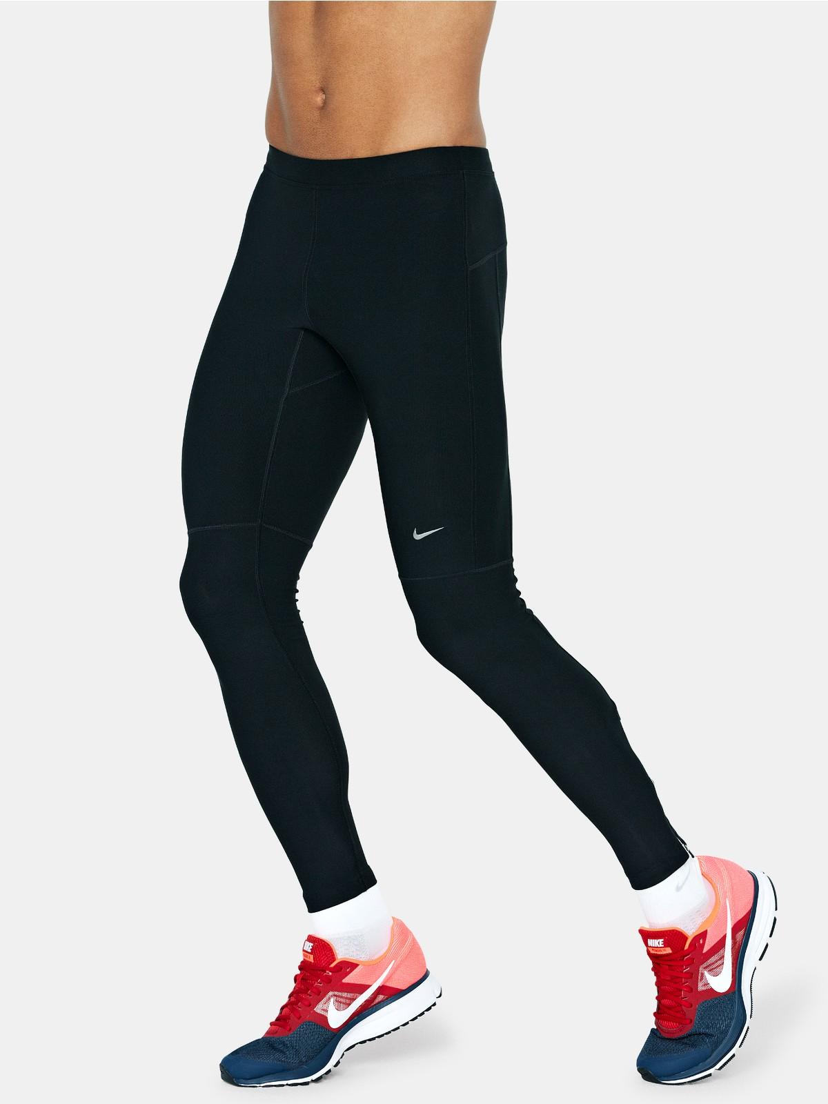 Nike Filament Mens Running Tights in Black for Men | Lyst