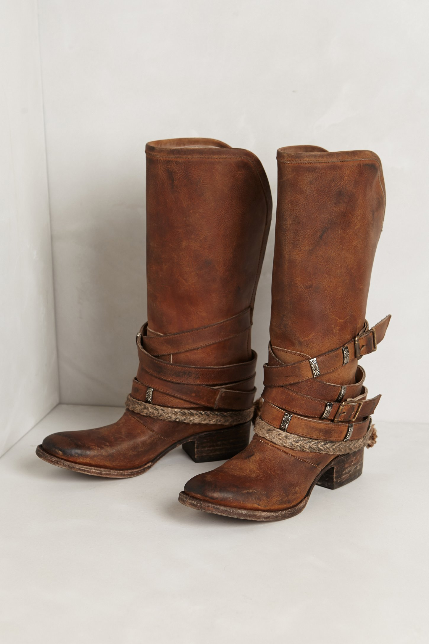 Freebird By Steven Drover Slinger Midboots In Brown Lyst