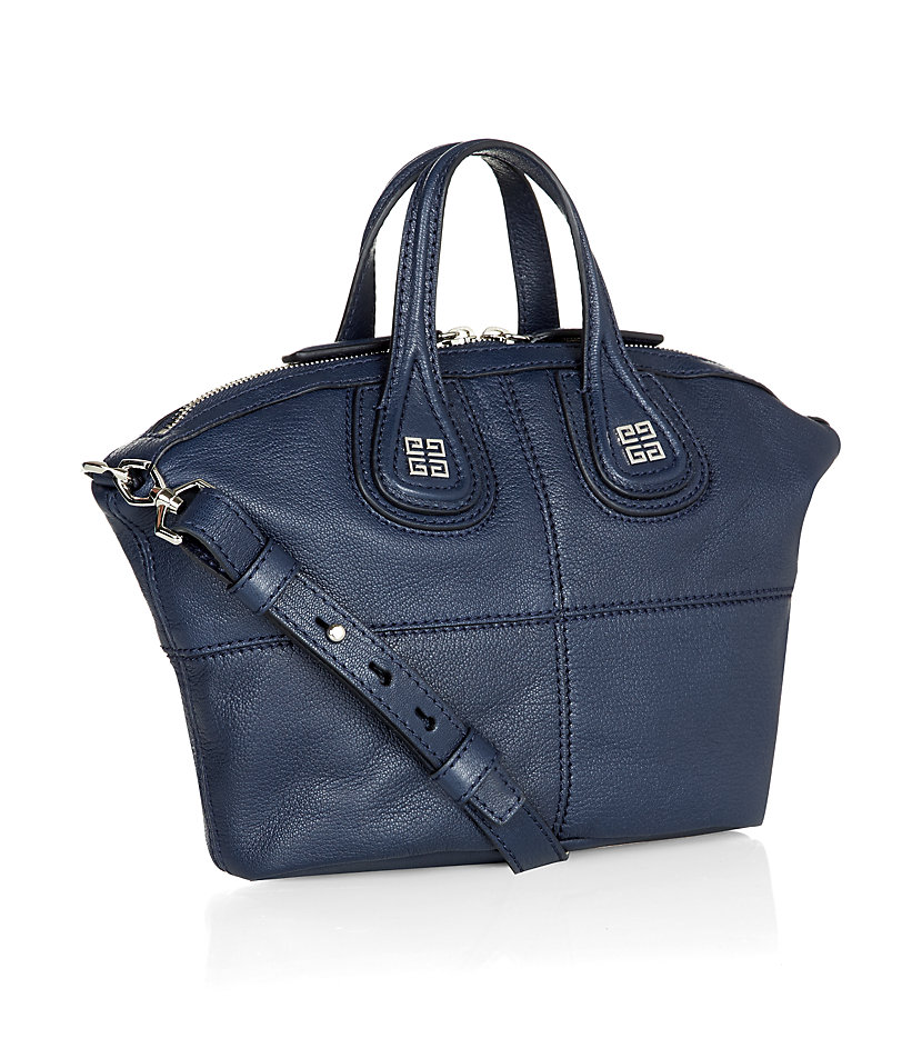 Givenchy Nightingale Mini Tote in Deep Blue