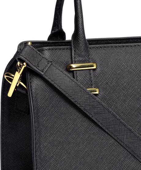 Vintage Ladies Satchel Tote Messenger Handbag Womens Shoulder Bag Black