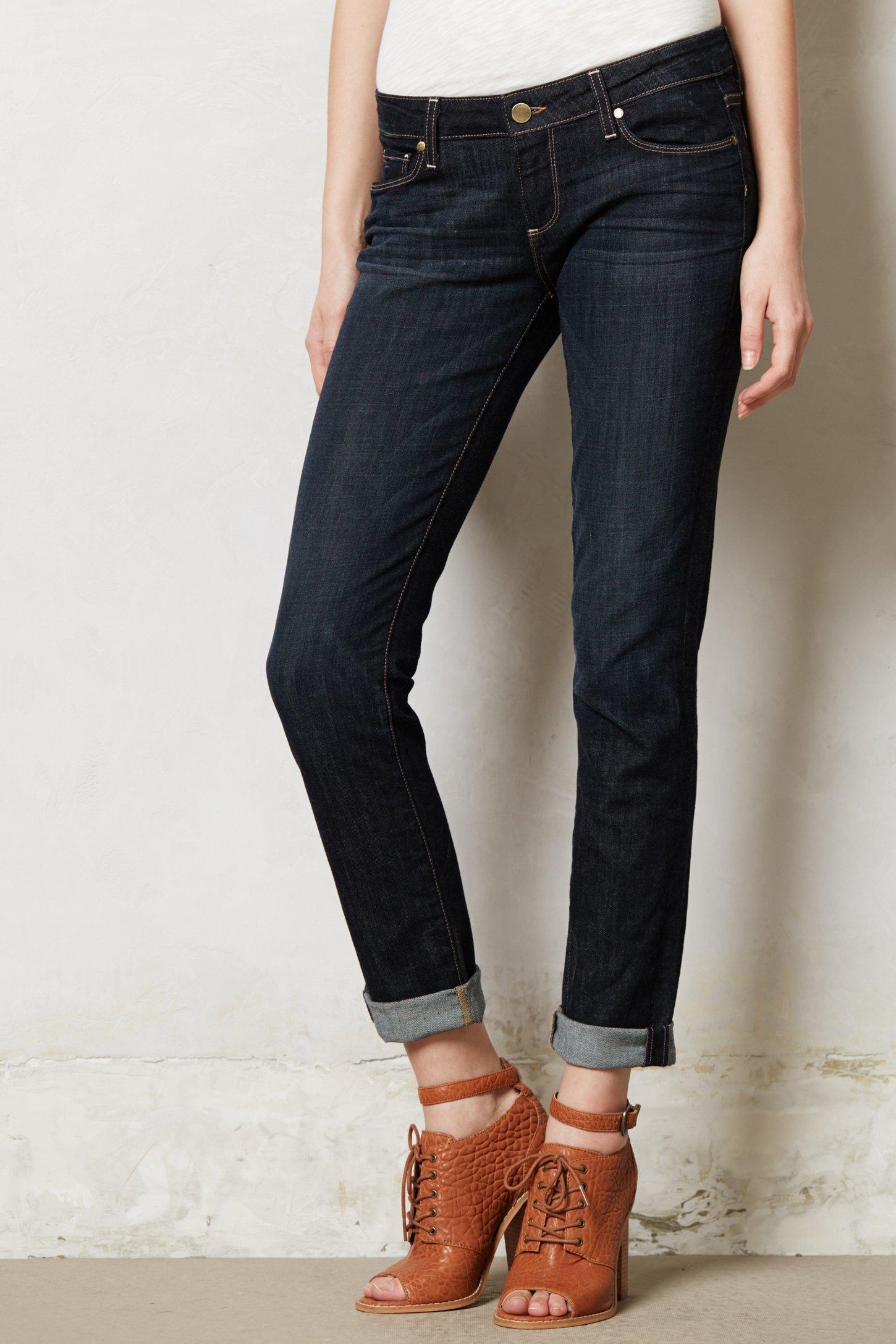 Paige Jimmy Jimmy Skinny Boyfriend Jeans in Blue | Lyst