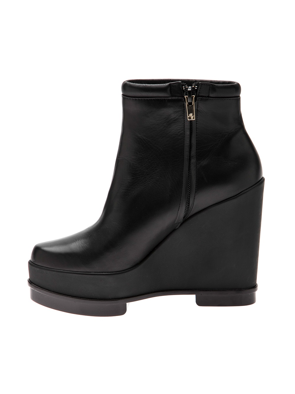 Lyst Robert Clergerie Sarla Wedge Boot In Black