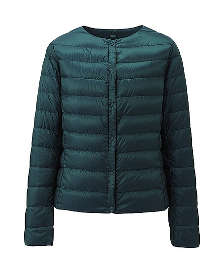 uniqlo ultra light down compact jacket in green lyst. Black Bedroom Furniture Sets. Home Design Ideas
