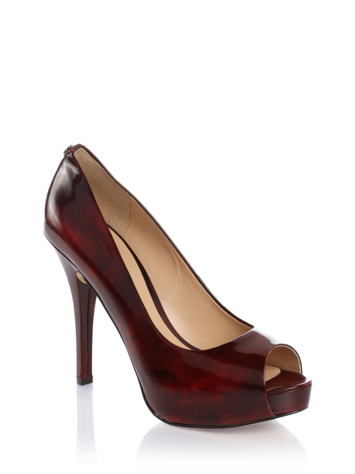 Guess Red Patent Leather Shoes