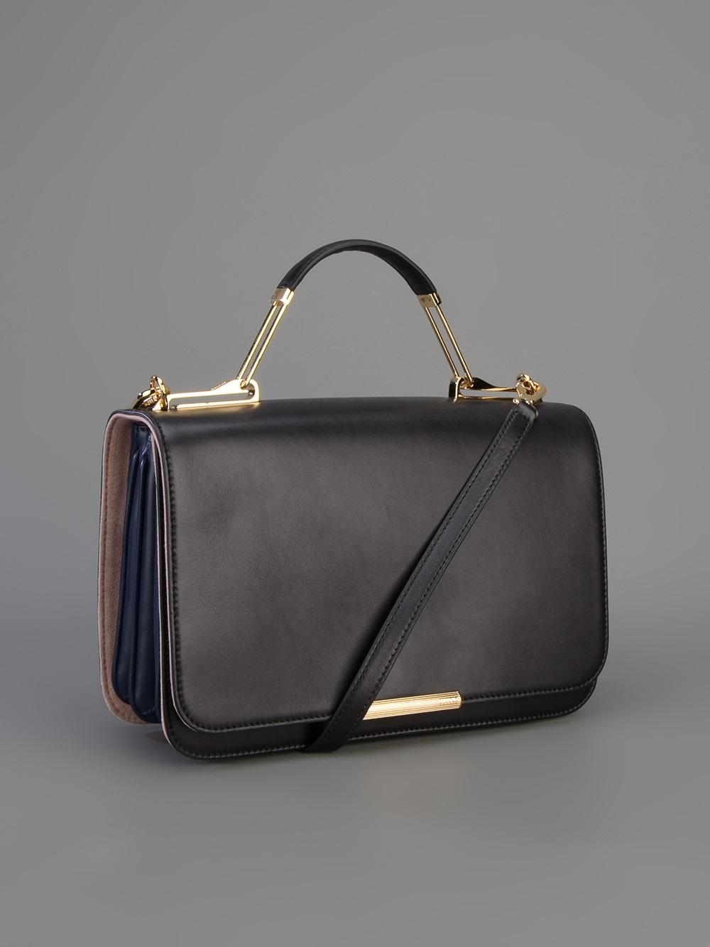 Lyst Emilio Pucci Emilio Pucci Newton Shoulder Bag In Black