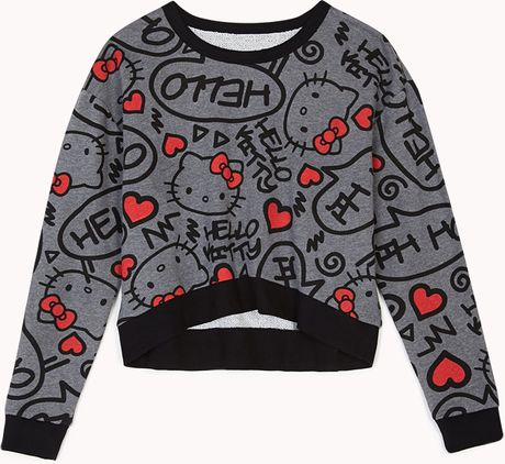 21 Hello Kitty Sweatshirt