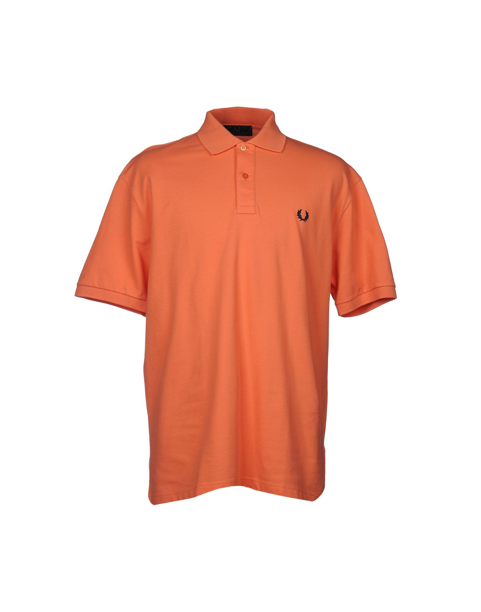 fred perry polo shirt in orange for men lyst. Black Bedroom Furniture Sets. Home Design Ideas