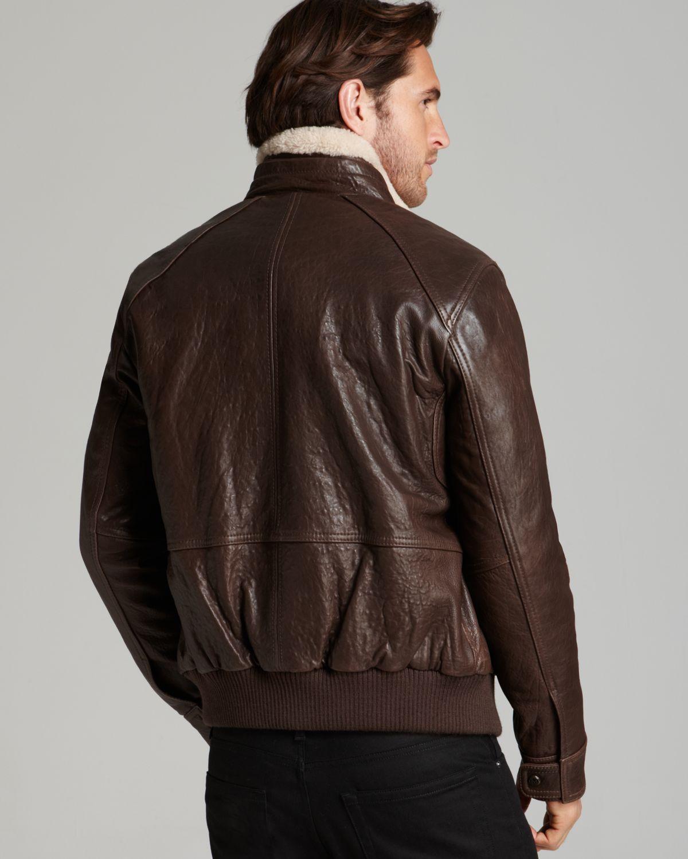 Leather Jackets Aviator - Jacket