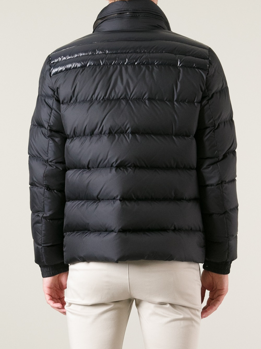 Moncler Dinant Feather Down Jacket In Blue For Men Lyst