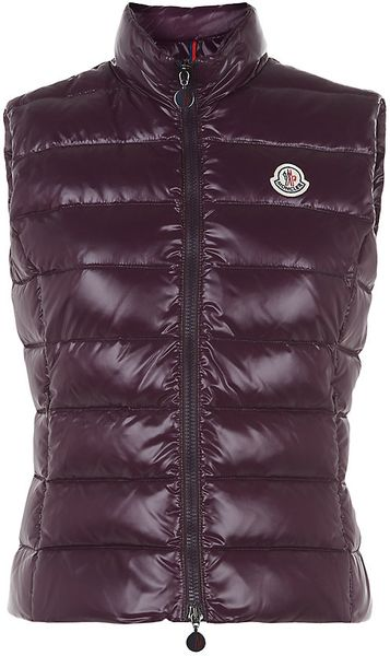 Moncler Ghany Gilet In Red Lyst