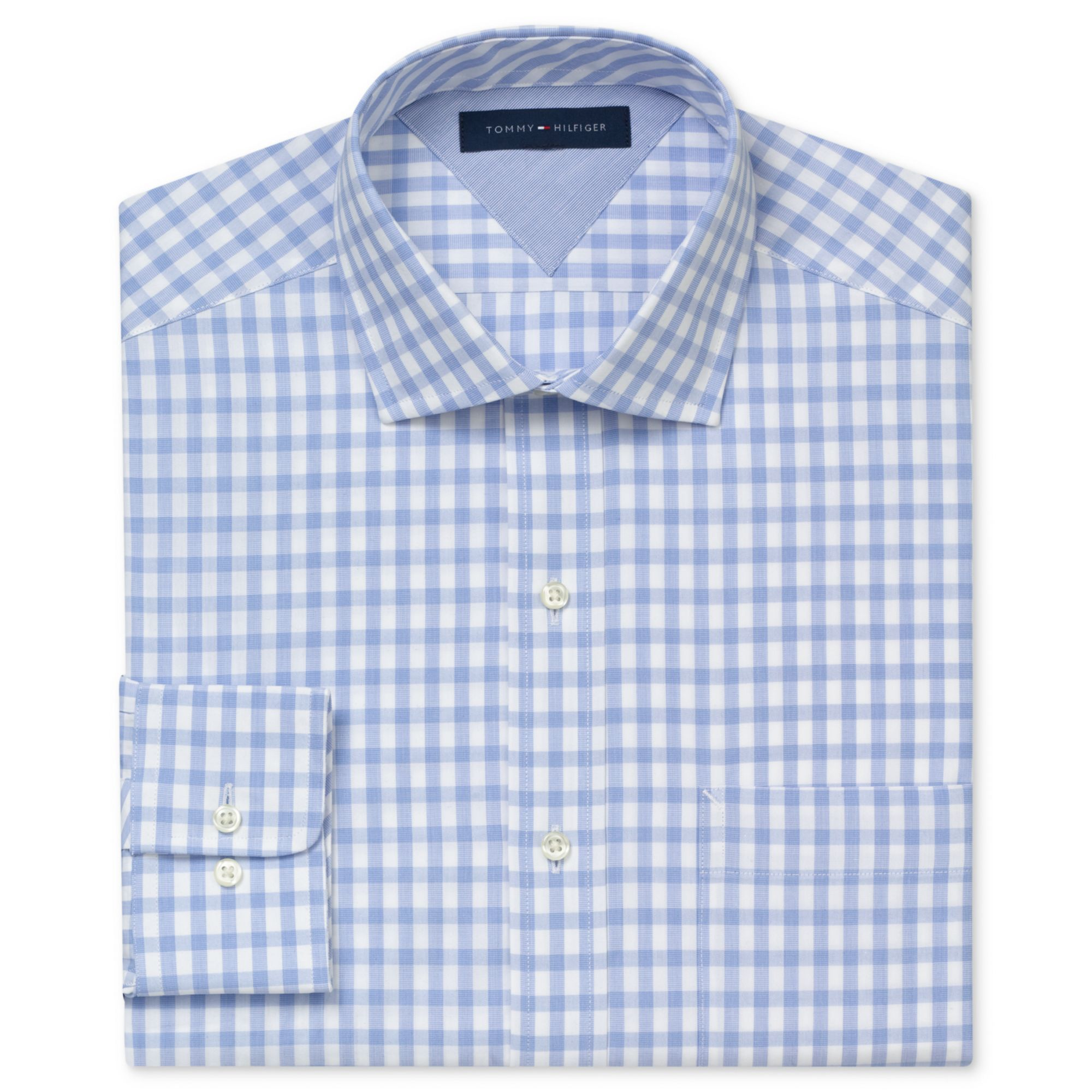 Lyst Tommy Hilfiger Exploded Gingham Long Sleeve Shirt