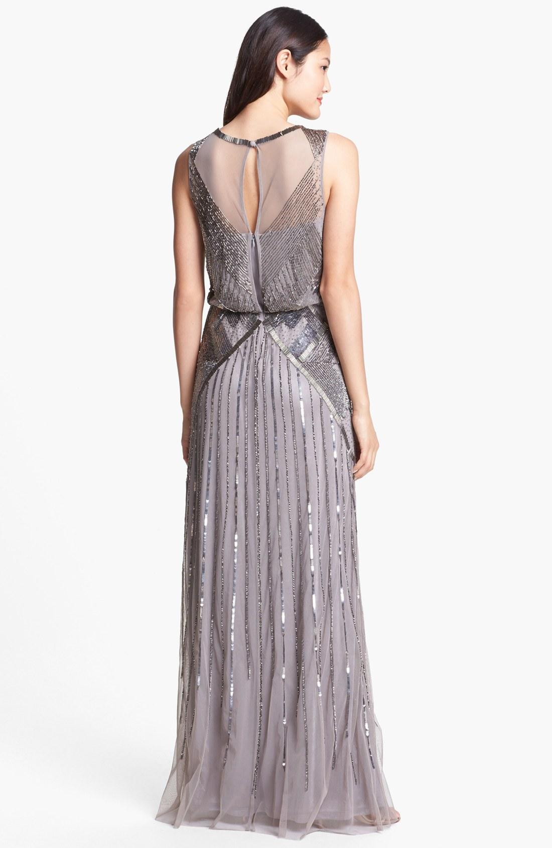 Aidan Mattox Blouson Gown – fashion dresses