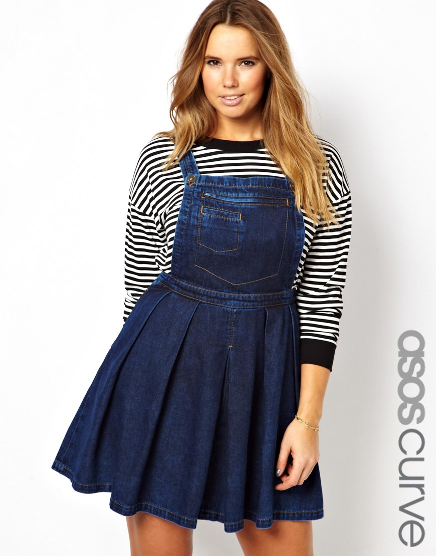 Lastest Denim Pinafore Dress Denim Pinafore Dress Outfits How To Wear A Denim