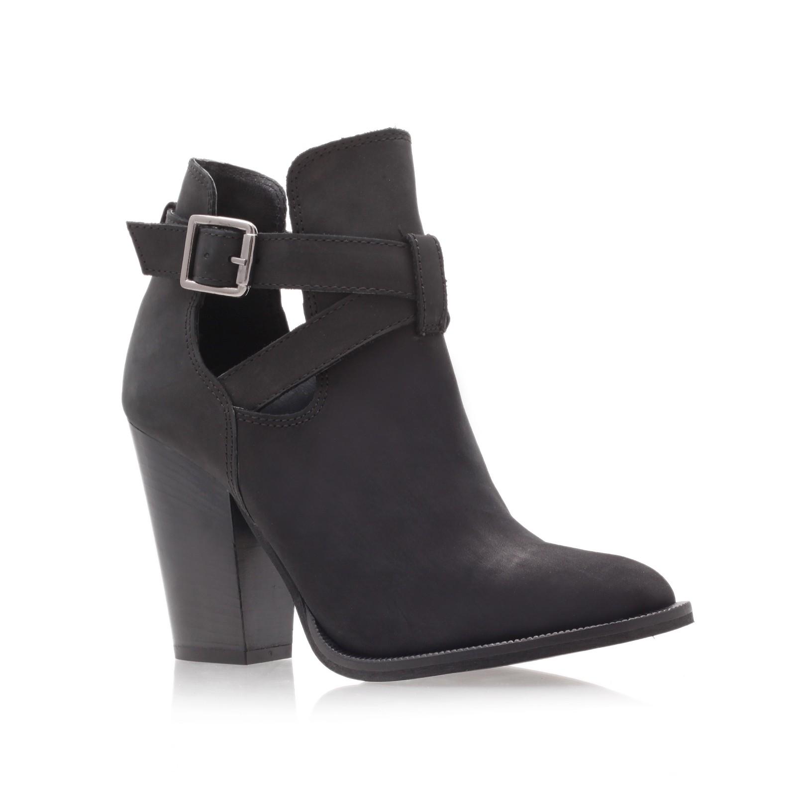carvela kurt geiger shilling ankle boots in black lyst